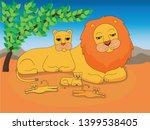 illustration of a family of... | Shutterstock .eps vector #1399538405