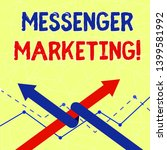 writing note showing messenger...