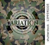 variation camouflage emblem.... | Shutterstock .eps vector #1399590335