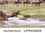 crossing kenya. national park.... | Shutterstock . vector #1399600808