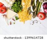 Various Italian Fresh Food  In...