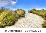 Path In The Dunes Going To The...