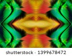 abstract art screensaver.... | Shutterstock . vector #1399678472