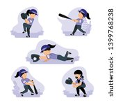 vector illustration of asian... | Shutterstock .eps vector #1399768238