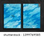 set of abstract painted...   Shutterstock .eps vector #1399769585