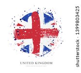 flag of great britain in the... | Shutterstock .eps vector #1399803425