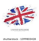 flag of the great britain.... | Shutterstock .eps vector #1399803428