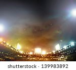 image of stadium in lights and... | Shutterstock . vector #139983892