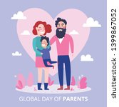 global day of parents  happy... | Shutterstock .eps vector #1399867052