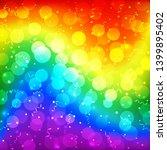 lgbt color blur bokeh festive...   Shutterstock .eps vector #1399895402