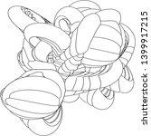 vector illustration of an... | Shutterstock .eps vector #1399917215