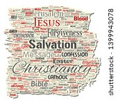 vector conceptual christianity  ... | Shutterstock .eps vector #1399943078
