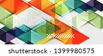 abstract geometric background.... | Shutterstock .eps vector #1399980575