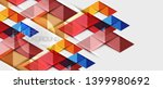 abstract geometric background.... | Shutterstock .eps vector #1399980692