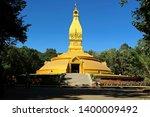 Golden Pagoda  Or Golden Stupa  ...