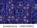 vector illustration. night city.... | Shutterstock .eps vector #1400105822