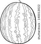 black and white cartoon vector... | Shutterstock .eps vector #140013022