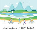 landing page template of stay...   Shutterstock .eps vector #1400144942
