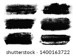 brush strokes. vector... | Shutterstock .eps vector #1400163722