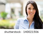 portrait of a beautiful casual... | Shutterstock . vector #140021506