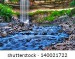 beautiful minnehaha creek... | Shutterstock . vector #140021722