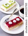 tasty fruit and berry mini... | Shutterstock . vector #1400220785