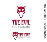 evil smile logo  smile design... | Shutterstock .eps vector #1400221502