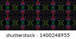 tibetan pattern. vintage shawl... | Shutterstock . vector #1400248955