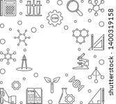 stem education vector concept... | Shutterstock .eps vector #1400319158