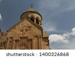 in armenia noravank the old... | Shutterstock . vector #1400326868