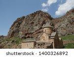 in armenia noravank the old... | Shutterstock . vector #1400326892