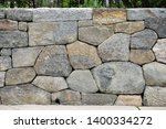 dry stone wall and drain pipe ... | Shutterstock . vector #1400334272