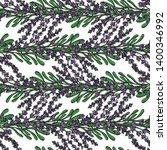 seamless pattern of purple... | Shutterstock .eps vector #1400346992