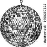 disco ball illustration ...   Shutterstock .eps vector #1400357522