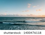 waves in the pacific ocean at... | Shutterstock . vector #1400476118