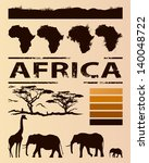 African Travel Design Template