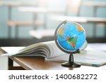 Education Concept Modeled Globe ...