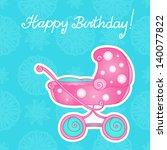 astratto,bambino,sfondo,bellezza,nascita,compleanno,blu,ragazzo,passeggino,carta,carrello,cartone animato,celebrazione,bambino,infanzia