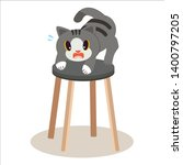 a cute character of cat...   Shutterstock .eps vector #1400797205