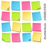 realistic sticky note with... | Shutterstock .eps vector #1400815535