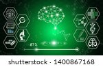 abstract background technology... | Shutterstock .eps vector #1400867168