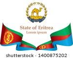 flag of eritrea  state of... | Shutterstock .eps vector #1400875202