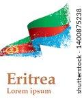 flag of eritrea  state of... | Shutterstock .eps vector #1400875238