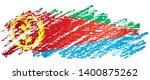 flag of eritrea  state of... | Shutterstock .eps vector #1400875262