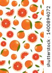 seamless pattern orange fruits... | Shutterstock .eps vector #1400894072