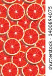 seamless pattern slice orange... | Shutterstock .eps vector #1400894075