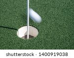 Putt That Just Missed The Hole  ...