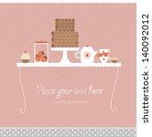 sweet background | Shutterstock .eps vector #140092012