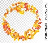 oak  maple  wild ash rowan... | Shutterstock .eps vector #1400939498