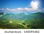 mountain landscape. composition ... | Shutterstock . vector #140094382